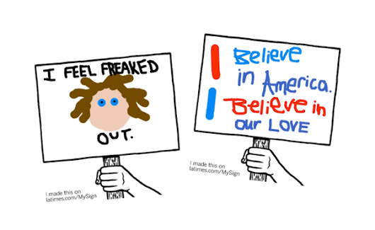 We asked. You drew. This is how our readers feel about America right now