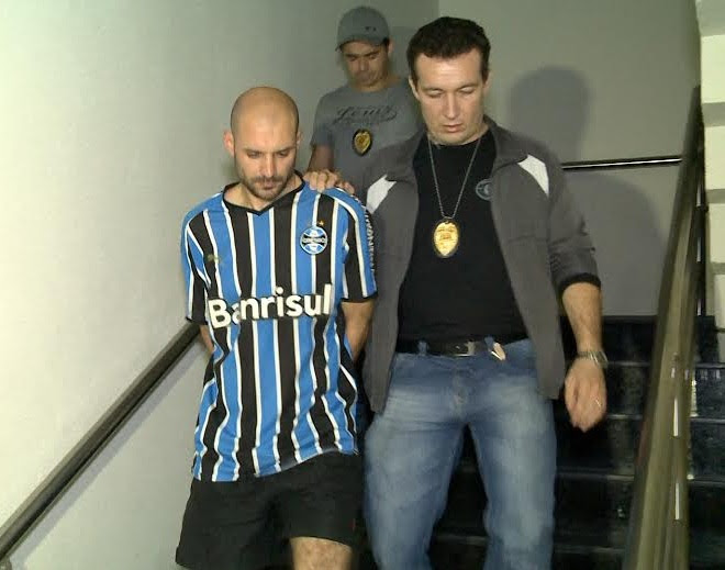 Marcelo Barbarena é gaúcho e morava em Fortaleza há cerca de quatro anos. (FOTO: Reprodução/ TV Jangadeiro)