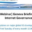 Geneva Briefing on Internet governance | The Global Internet Policy Observatory (GIPO)