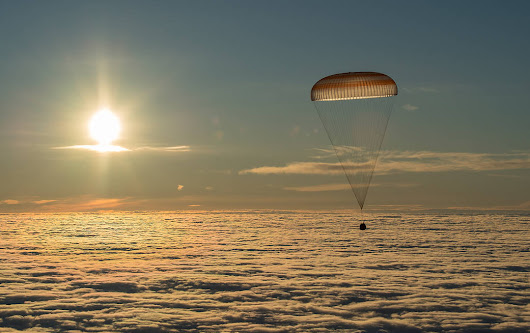 Soyuz With Expedition 54 Trio Aboard Returns to Earth