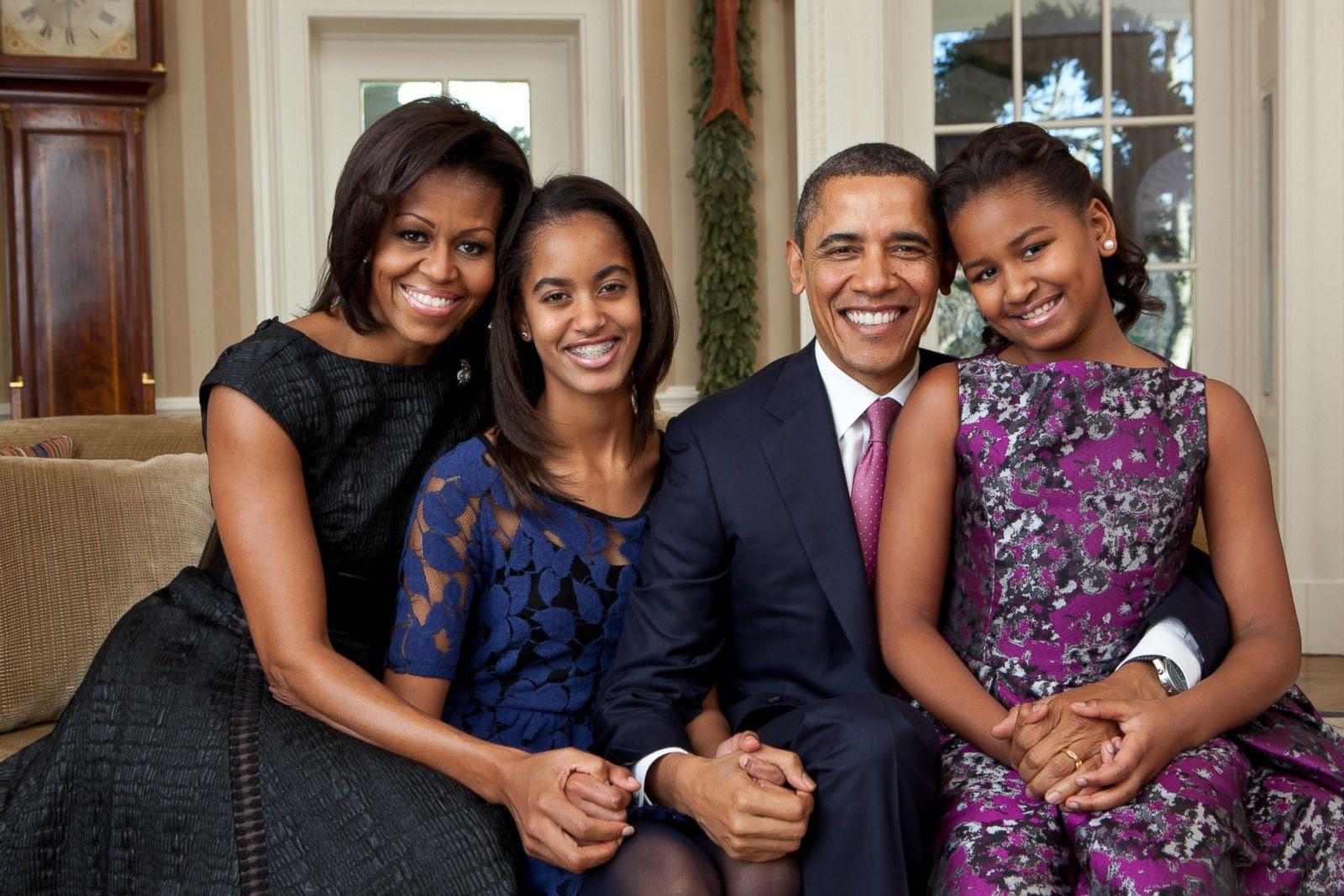 Image result for obama family 2008