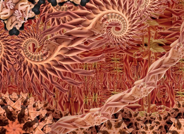 Erotikofraktalizatsiya carpets (4 photos)
