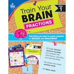 Carson Dellosa CD-149014 Train Your Brain Fractions Level 1 Classroom Kit - Multi Color