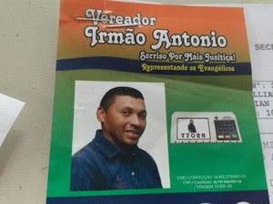 Ex-marido, Antônio Cláudio da Silva Santos, é ex-candidato a vereador em Sorriso (Foto: MT Notícias)