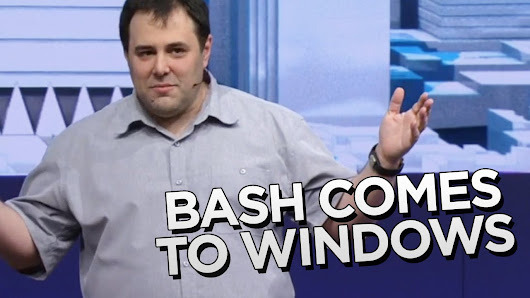 Bash llega a Windows y no, NO ES BROMA