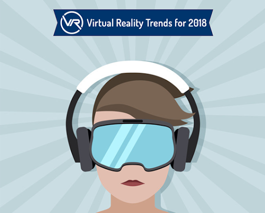 VR/AR Trends for 2018 - A Visual Infographic by VR Vision Inc