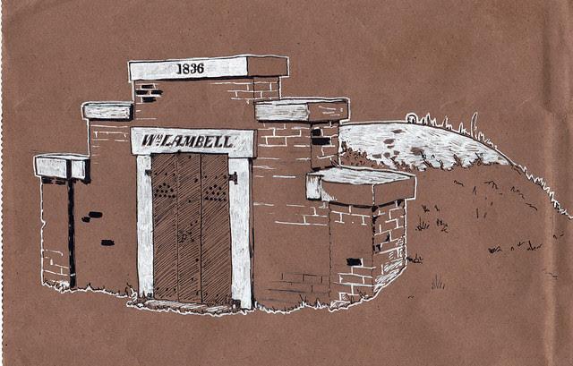 Congressional Cemetery Wm. Lambell Vault