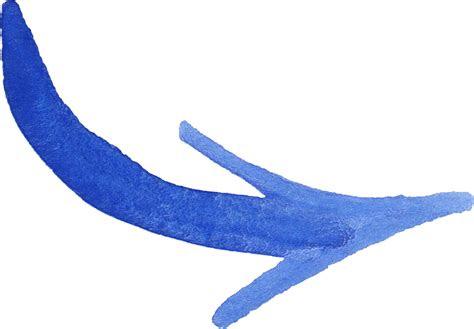 blue watercolor arrow png transparent onlygfxcom
