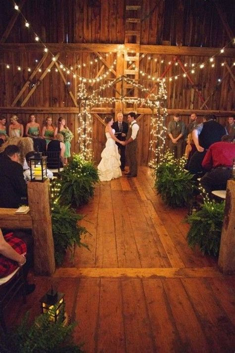 30 Barn Wedding Ideas That Will Melt Your Heart   Wedding