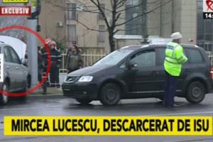 Место ДТП Мирчи Луческу в Бухаресте