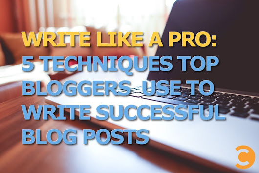Write Like a Pro: 5 Techniques Top Bloggers Use to Write Successful Blog Posts | Convince and Convert: Social Media Strategy and Content Marketing Strategy