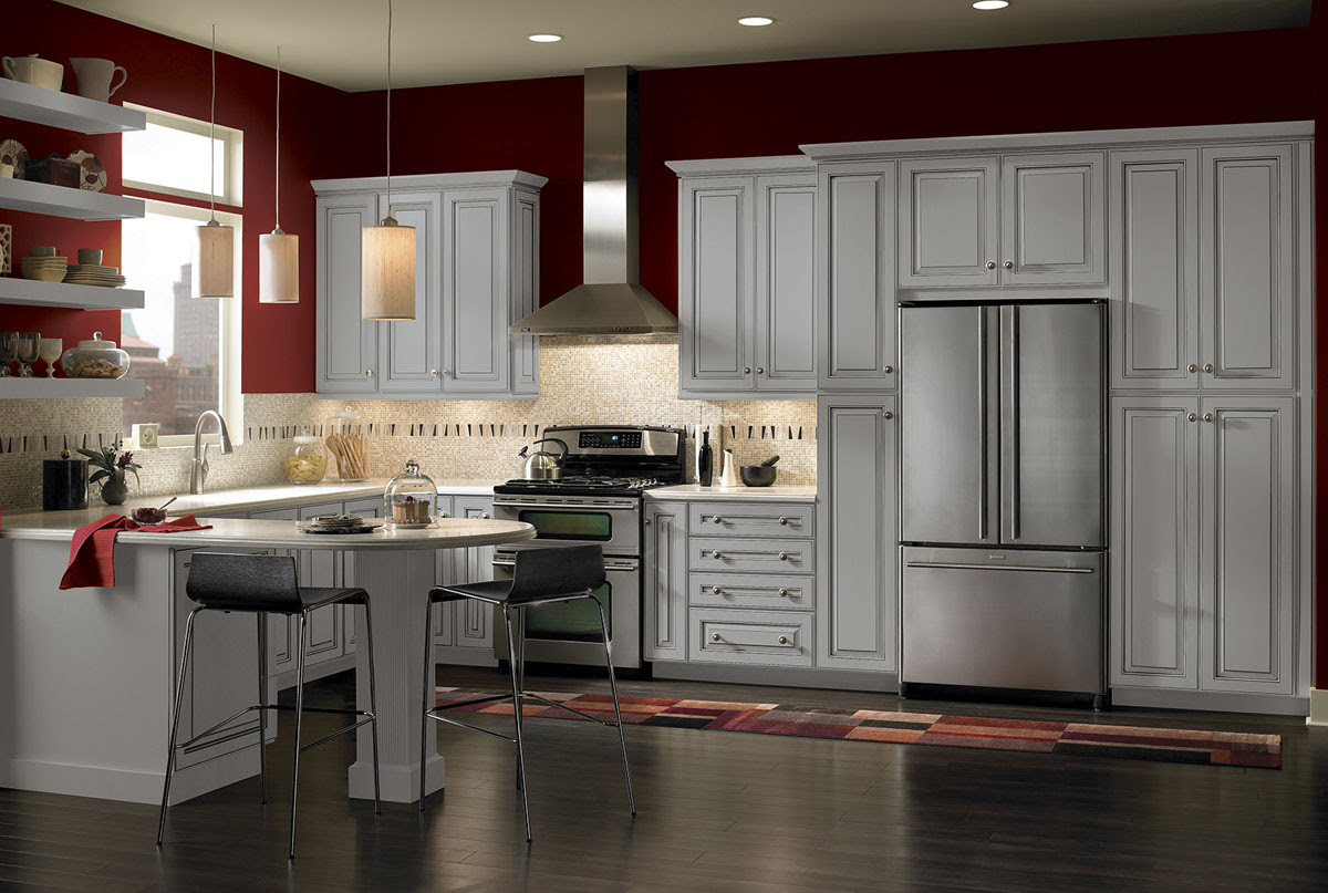Lisburn Maple Kitchen Cabinets Detroit, - MI Cabinets