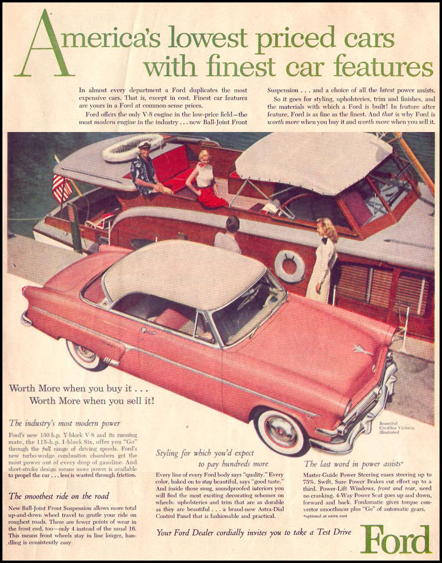 FORD AUTOMOBILES LIFE 07/12/1954 p. 5