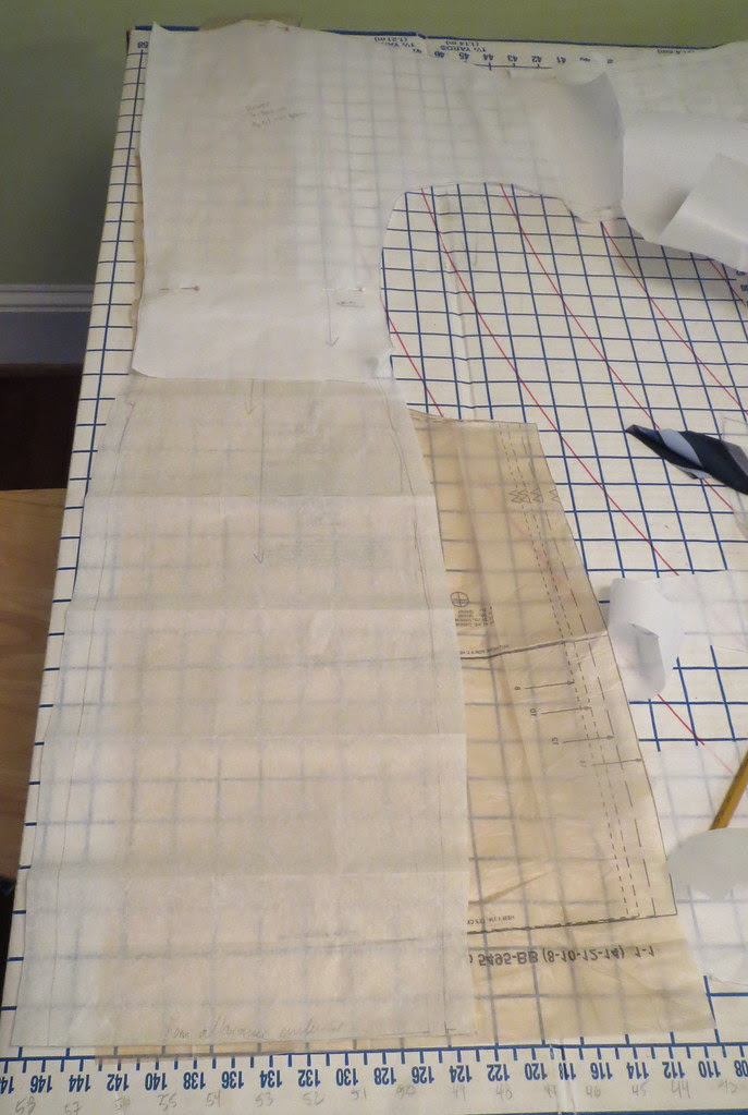 Back Pattern Piece