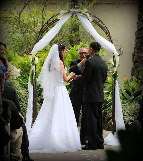 Wrought Iron Garden Wedding Arch Rentals by Arc de Belle