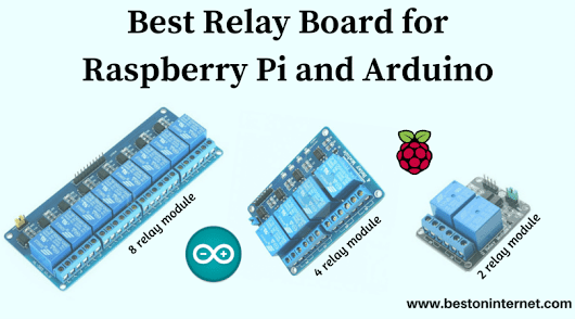 Best Relay Board for Raspberry Pi and Arduino