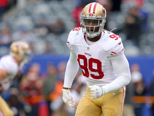 Report: 49ers suing Aldon Smith for over $340K in bonus money