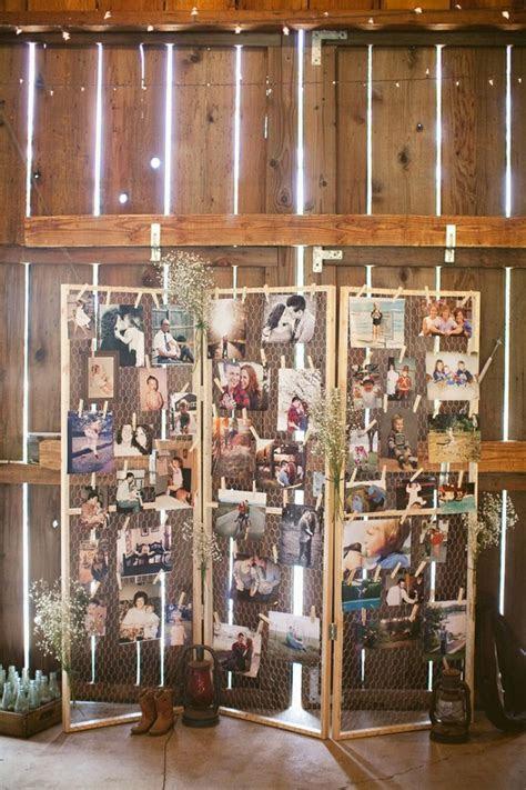wedding photo display ideas 1   Fab Mood   Wedding Colours