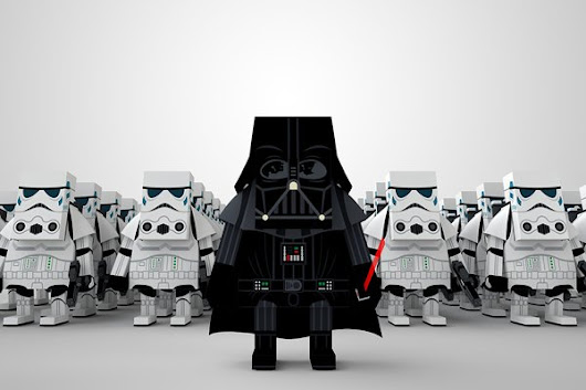 #WANT: Paper Star Wars Figures by Momot - ChurchMag
