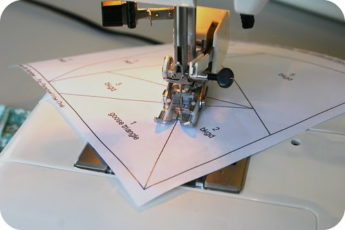 Perforate the paper