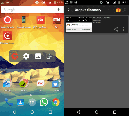 Aplikasi perekam layar android gratis terbaik