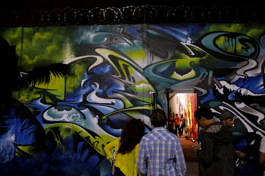 Google goes street: L.A. launch party celebrates public art