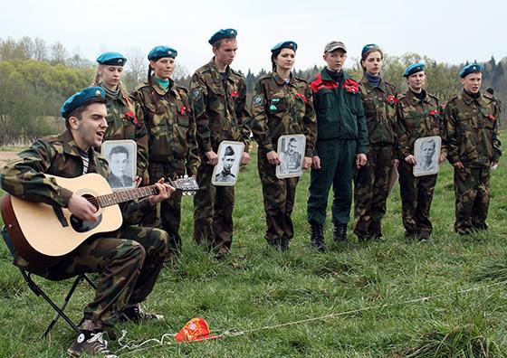 на конкурсе патриотической песни — яновичане