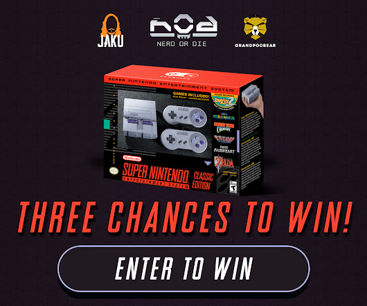SNES Classic Edition Giveaway - Three Chances to Win! - Nerd or Die