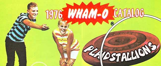 Whamo frisbee catalog