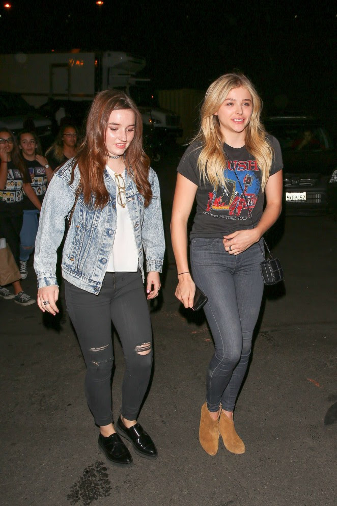 Chloe Moretz and Kaitlyn Dever: We Can Survive Concert -02