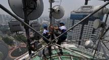 Ilustrasi menara telekomunikasi. (Foto Dok Industry.co.id)