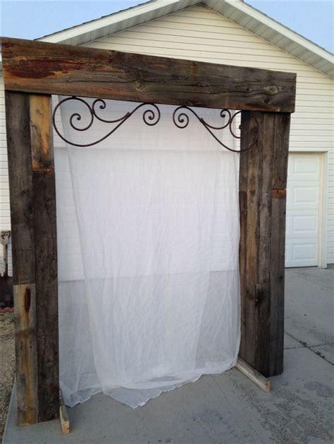 Best 25  Wood wedding arches ideas on Pinterest   Wood
