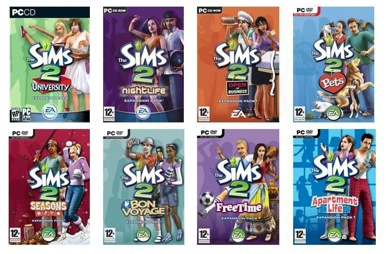 Sims 2 with all expansions download