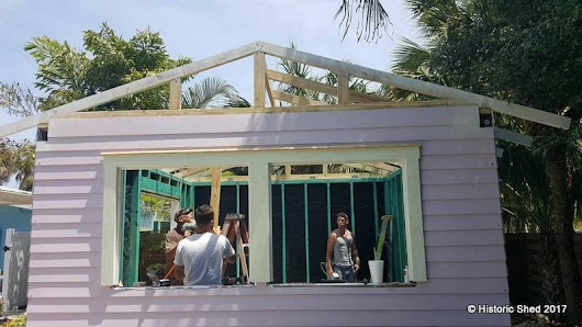 Tropical Bar Shed | Historic Shed
