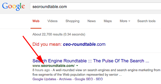 Google Can List Old Legacy URLs In Search Results When...