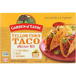 Garden of Eatin Dinner Kit, Yellow Corn Taco - 9.4 oz