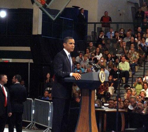 Obama at Rio Rancho