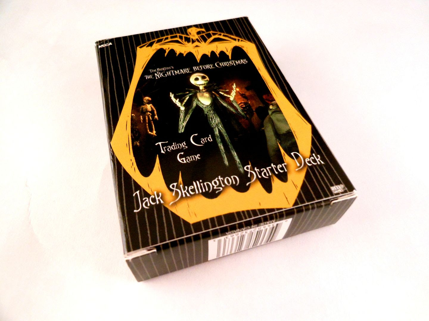 The Nightmare Before Christmas TCG box.
