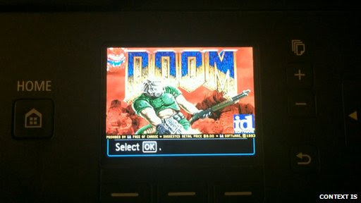Canon printer hacked to run Doom