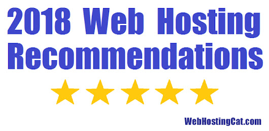 Web Hosting Recommendations 2018 | Web Hosting Cat