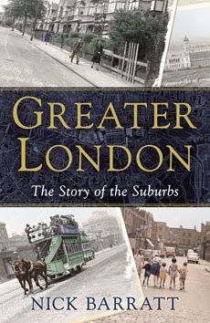 Cover of Nick Barratt's Greater London