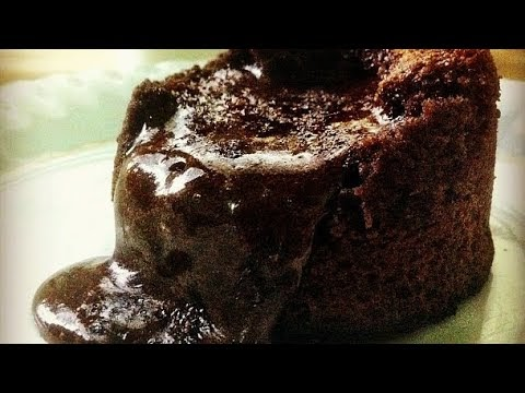Chocolate Lava Cake: Simple Cake Recipe at Home without Oven