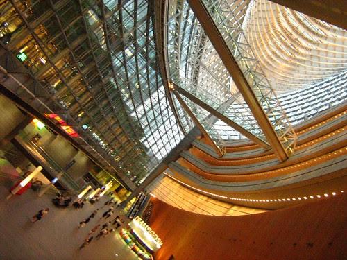 Interior of Tokyo International Forum 2