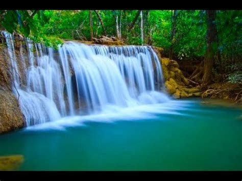 waterfall natures  white noise  relaxation