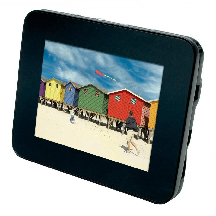 Polaroid 7 Glass Digital Photo Frame