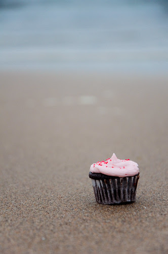 cupcake by the sea