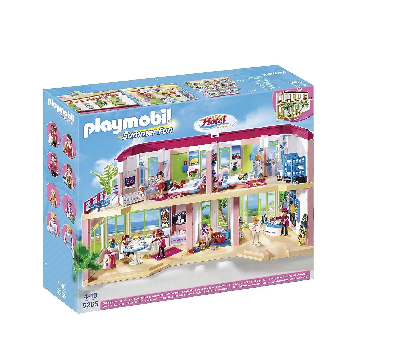 Playmobile Large Furnished Hotel