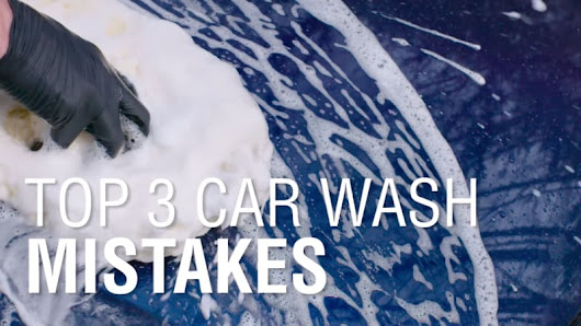 Top 3 Car Washing Mistakes | Autoblog Details