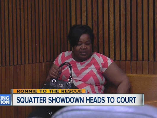 Foul mouth, taco shell tossing accused squatter and power thief appears in Detroit courtroom