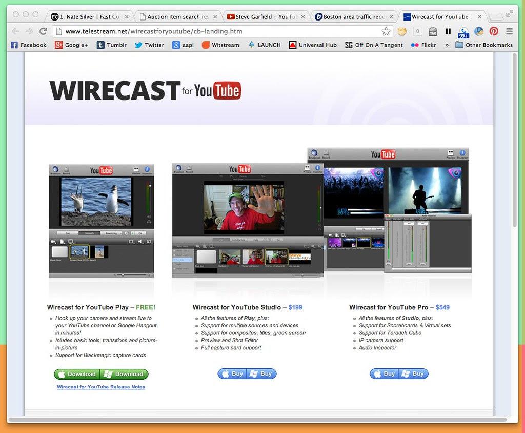 Wirecast for YouTube | Telestream